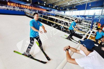 东城区年内建10座冰场 覆盖全部8个学区