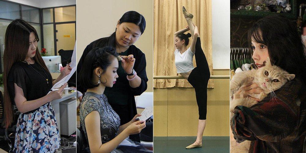 【燕女郎】小长假她们不回家忙点啥?美女CEO连加八天班 高三女生练舞备考