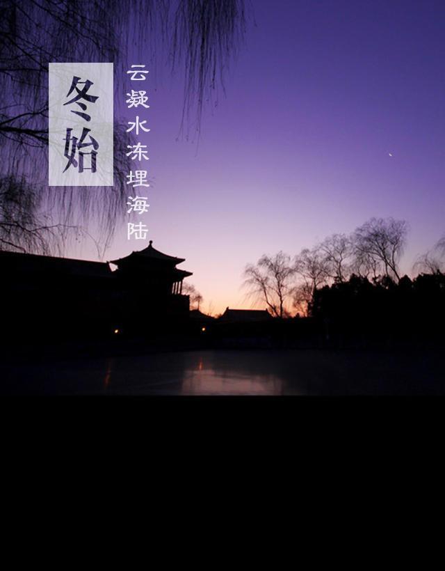 老树枯枝,宫墙覆雪,冬天才是北京的精髓所在