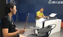 音乐才女与鼓王父亲同台PK