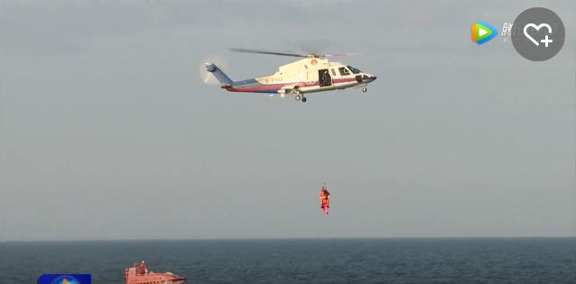 航天员海上救援训练