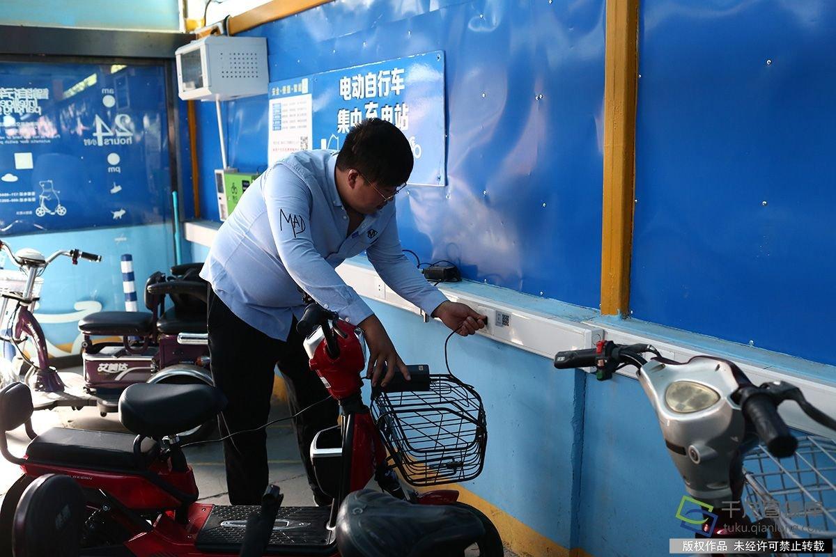 北京智能车棚上线 可自动报警灭火