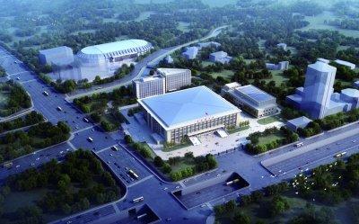 首都体育馆场馆群全面开工 计划2020年竣工