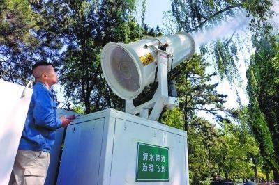 北京三年后逛公园不再受飞絮侵扰