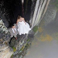 【大光圈】带你看最玩命的婚纱照