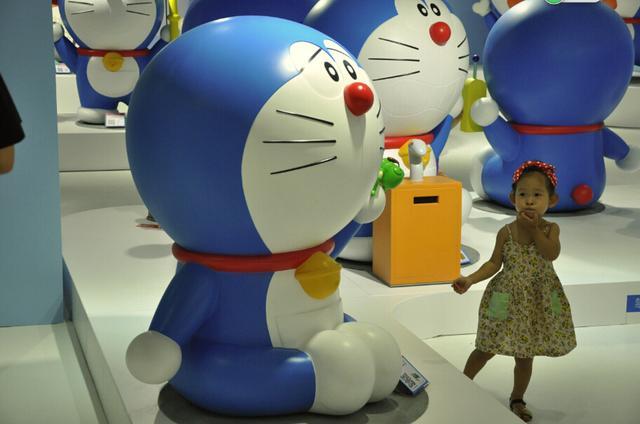 胖子A梦45周年特展--被蓝哆啦萌哭了羊剑花三漫画图片