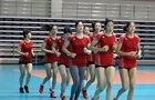 组图:女排回归训练模式 备战大奖赛总决赛