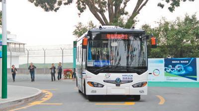 智能公交上路 无人驾驶尚远