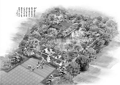 世园会首批展园水墨风方案图公布