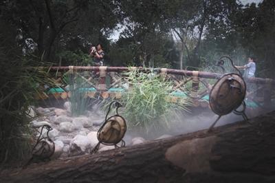 """西城区菜市口超3万平方米闲置地建成""""广阳谷城市森林"""""""