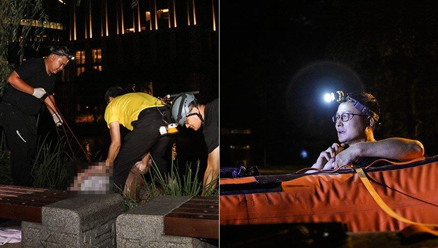 【点京65期】实拍北京义务捞尸人 出发前先报备血型