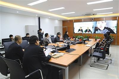 申请人离京 房山法院远程发欠款