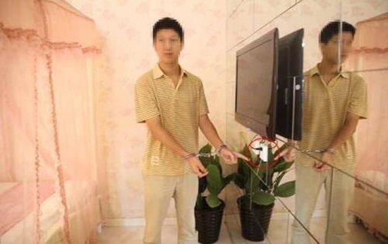 北京一主题酒店现针孔摄像头 正对大床拍摄惹恼夫妻