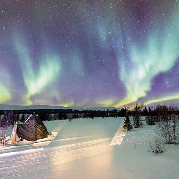 大光圈影友走进北极圈 拍下梦幻般的极光