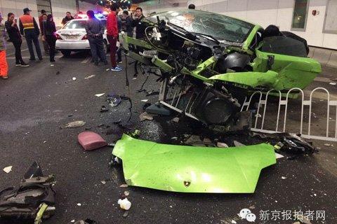 京城法拉利与兰博基尼相撞的三大谜团图片 高清图片