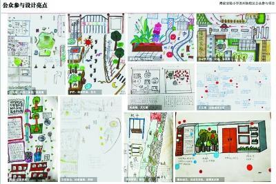 从城市家具,手绘地图,节点设计,到环境改造,社区治理,街区更新,涵盖了