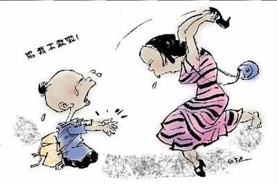 """中国父母缘何十分热衷于""""打屁股""""?"""