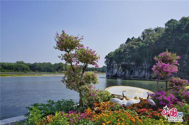 环广西公路自行车世界巡回赛之桂林山水