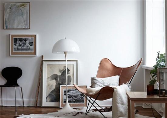 速来围观 清新优雅的单身女公寓