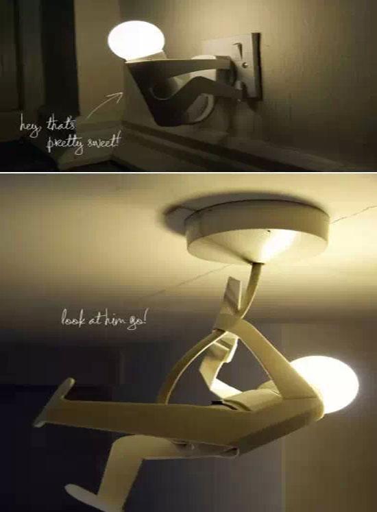废旧科技小制作小夜灯