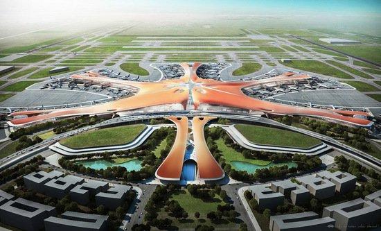 新利88国际新机场管廊启动顶推下穿京开高速