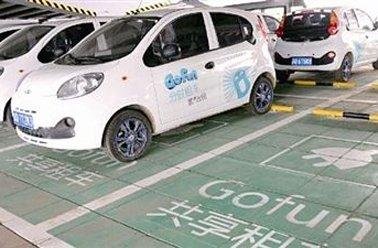 共享汽车使用频次北京居首