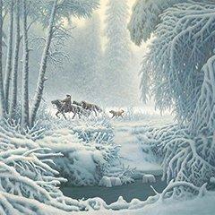 他是中国冰雪画第一人 巡展纪念申冬奥成功两周年