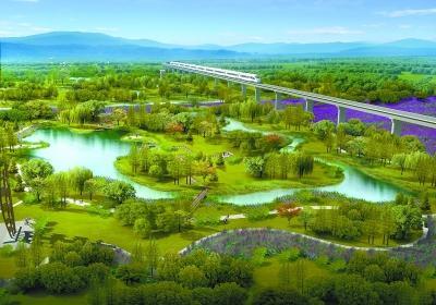 永定河畔修湿地  涵养官厅水库