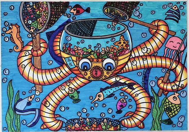 面向全国青少年科幻,美术爱好者征集科幻绘画作品图片