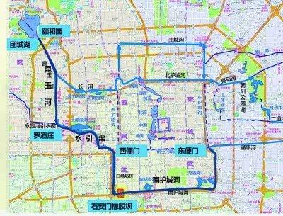 西南二环水系步道启动连通