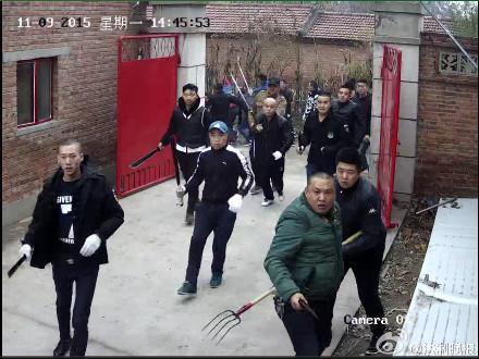 燕郊待拆迁村8人被砍续:警方已抓获16名嫌疑人