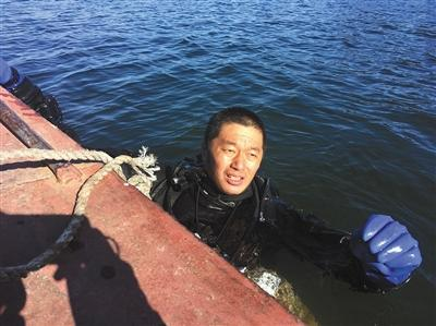 寻找失踪潜水员的12天