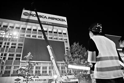 王府井步行街楼顶广告本月全拆 建筑天际线将重现
