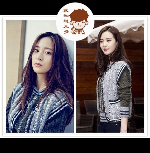 45个中韩女星之连环撞衫,谁美谁知道!