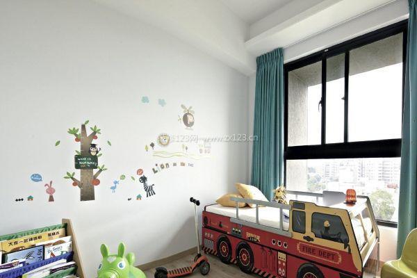 小面积儿童房装修设计 儿童房注意事项