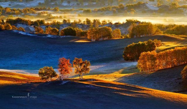 一条穿越最美草原的路线 沿途自带撩人秋景