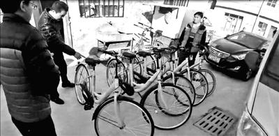男子盗窃网络共享单车被刑拘
