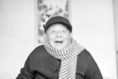 """101岁教授长寿""""三宝"""":心态好 七成饱 黑木耳"""