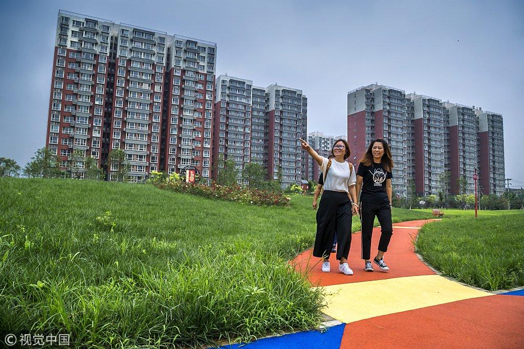 实拍北京丰台区村民安置房