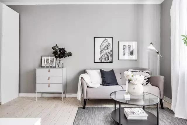 37平米小户型北欧风 打造完美单身公寓图片