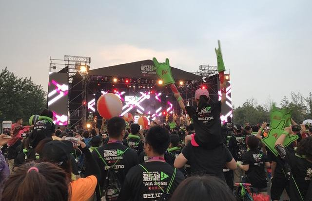 爱乐跑北京站完美收官 近万人雨后享音乐盛宴