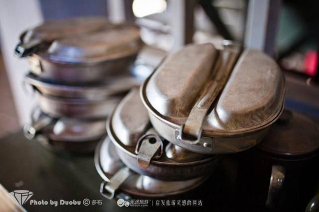 二战时期的美式军用饭盒 摄影/多布图片