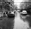 没安雨水管 大兴新居里小区下雨淹成河