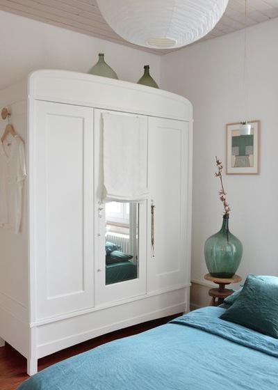 质朴家具点缀静谧通透空间