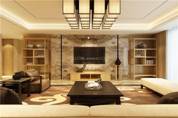 中式装修电视墙 中式电视墙如何装修