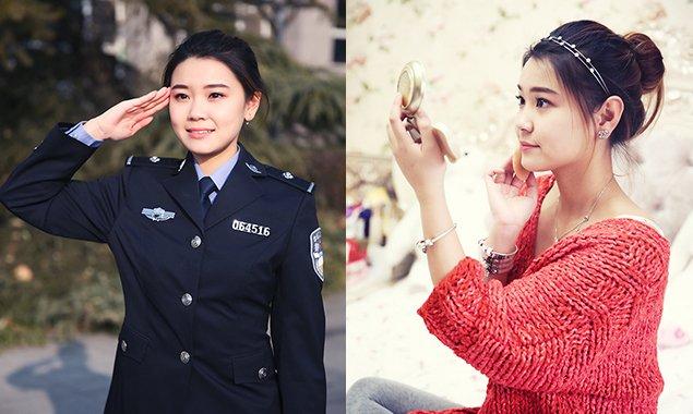 燕女郎第149期 90后清纯女警察:我不想做软妹子