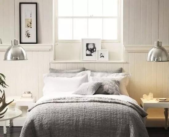 背景墙 床 房间 家居 家具 设计 卧室 卧室装修 现代 装修 550_448