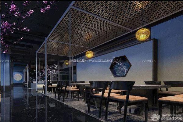中式装修饭店经验分享 中式饭店装修设计 大燕网北京站 腾讯网