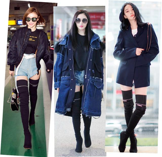 这样穿长靴保暖显瘦还能增高十厘米