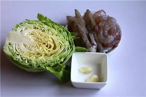 不可思议的拌菜:圆白菜拌双鲜